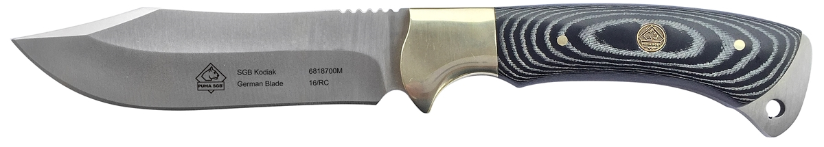 PUMA SGB Kodiak Micarta Hunting Knife with Nylon Sheath