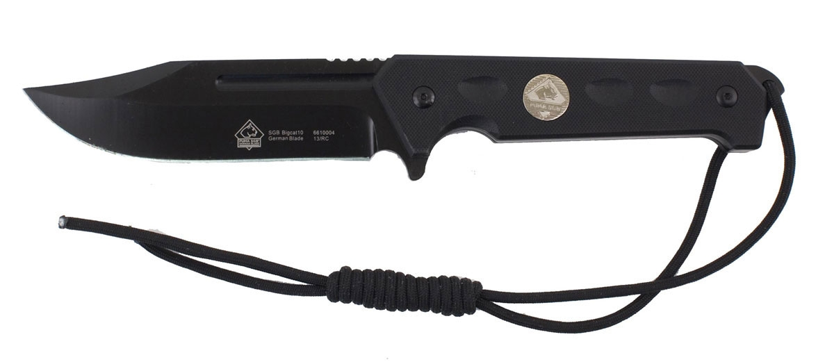 Puma SGB Bigcat 10 Clip Point Tactical Knife