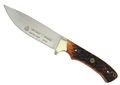 PUMA SGB Teton Zebra Wood with Leather Snap Over Sheath & Sharpening Tool