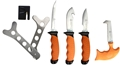 Puma XP 6 Piece Packable Game Processing Knife Set with Butcher's Apron