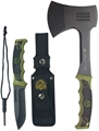 PUMA XP Forever Knife & Hatchet Camping Combo with Nylon Sheath and Firestriker