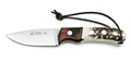 Puma IP Almeria Staghorn and Palisander Wood Spanish Made Hunting Knife with Leather Sheath - Special Order Please Allow 6 - 8 Weeks for Delivery