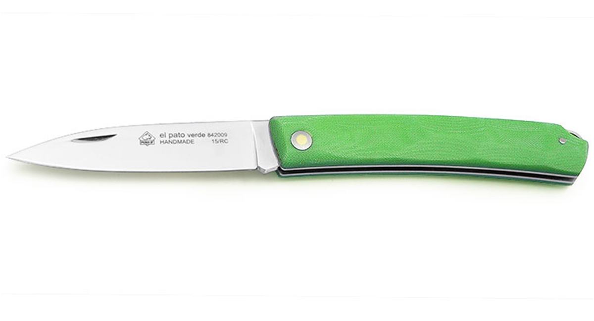 Puma IP El Pato Verde Micarta Spanish Made Folding Hunting Knife