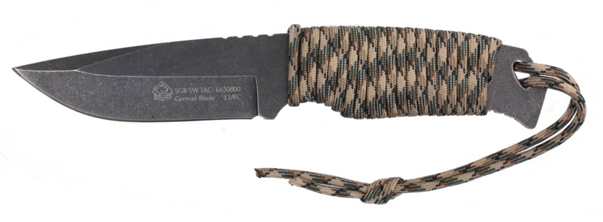 Puma SGB Stonewashed Tactical Knife with Kydex Sheath