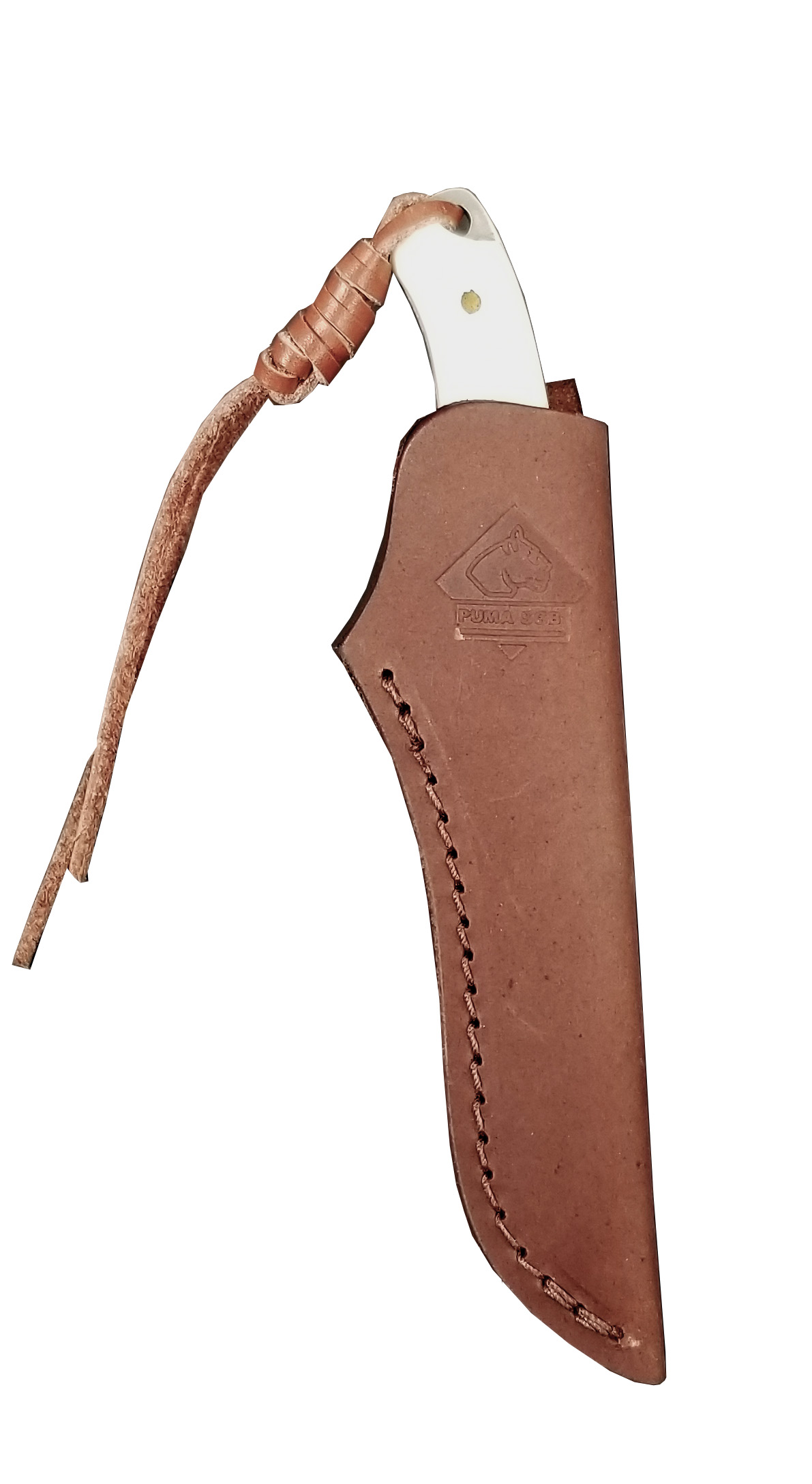 Leather Sheath for TrophyCare Caping/Fleshing Knife