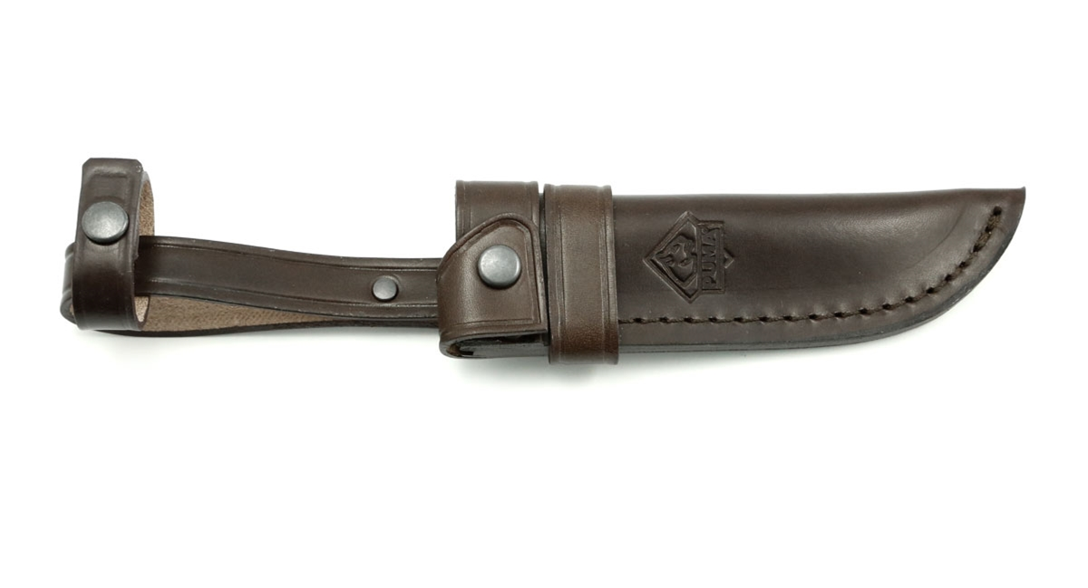 Replacement Leather Sheath for Puma Jagdnicker 2-tlg, Puma Waidmesser and IP Forster I Knives - Special Order Please Allow 6 - 8 Weeks for Delivery