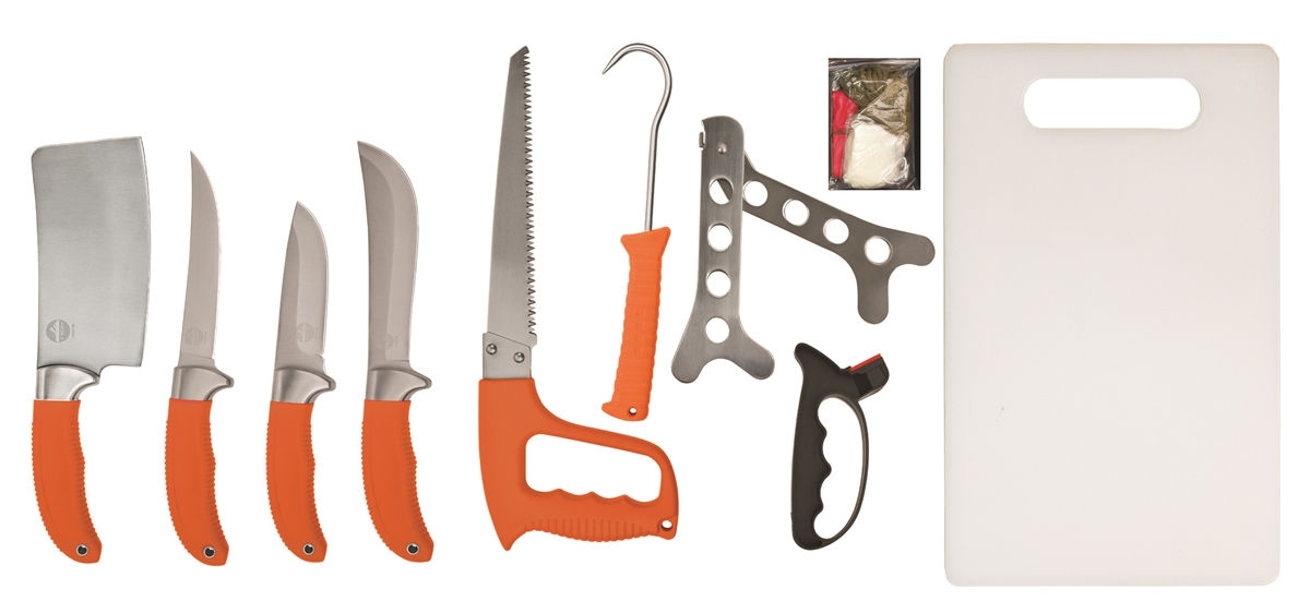 High Country Knife & Tool 9 Piece Game Processing Kit